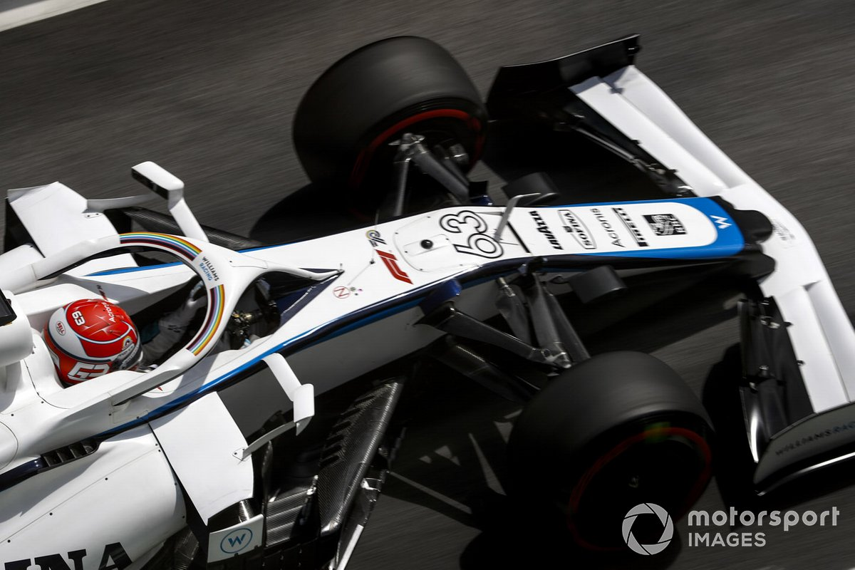 George Russell, Williams FW43, 1m15.698s